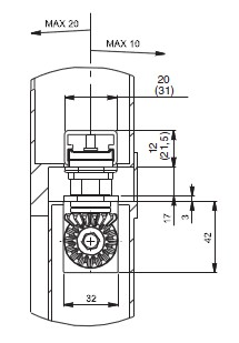 DC840 - Пример монтажа